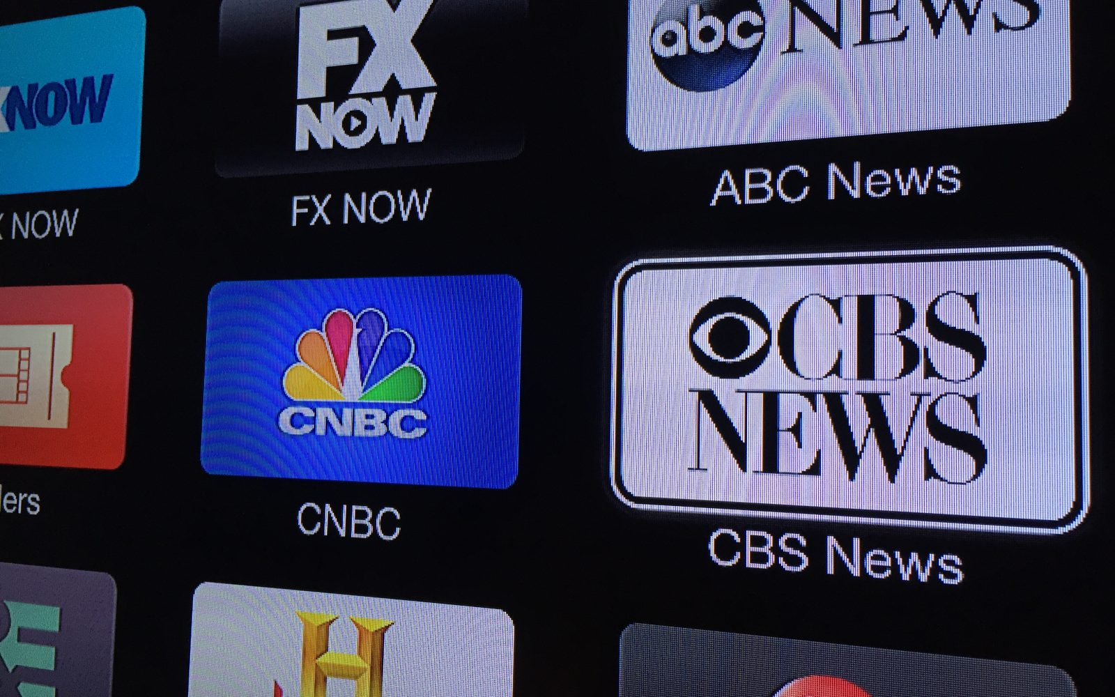 Apple TV updated with CBS News channel including free CBSN