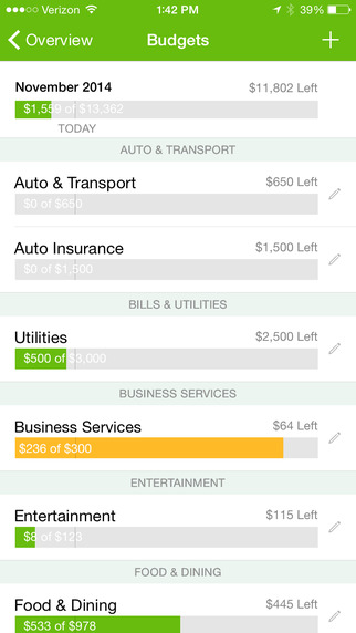 intuit s mint iphone app updated with faster personal finance