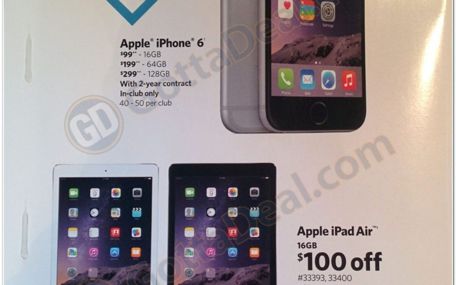 online store e2860 5fee7 Sam's Club's Black Friday deal has iPhone 6 for $99 on-contract ...