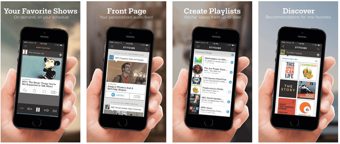 Stitcher app for dating