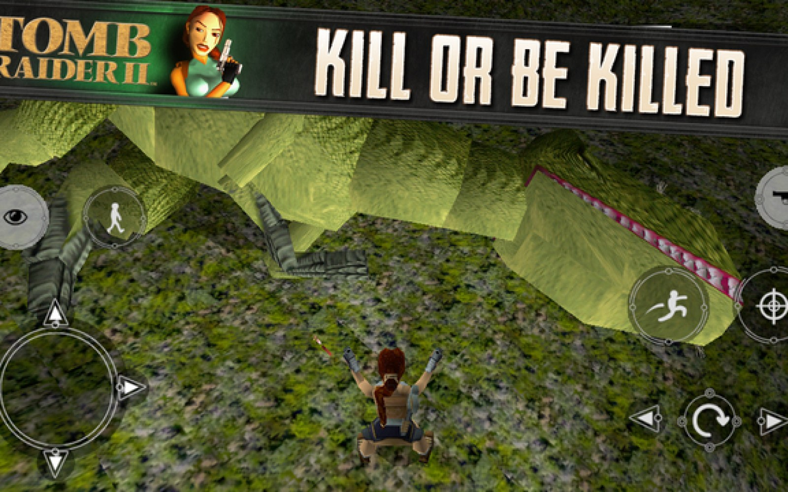 Take another nostalgic trip back to the 90s as Tomb Raider II available on the iPhone