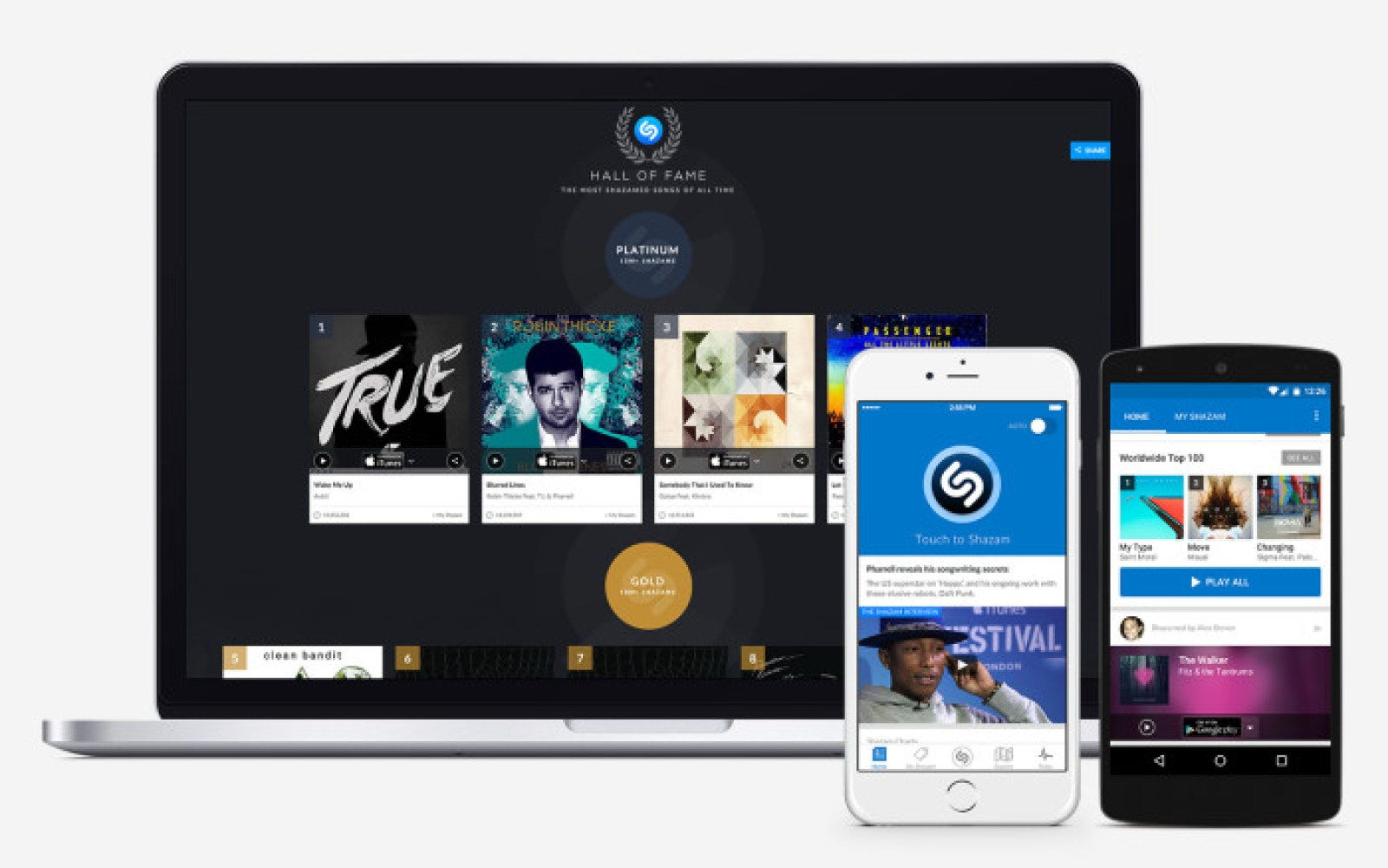 Shazam for iOS updated w/ redesigned music player, deeper Spotify integration & more