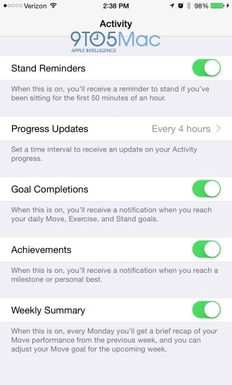 Apple Watch iPhone 'Companion' app revealed w/ new Watch features, monograms