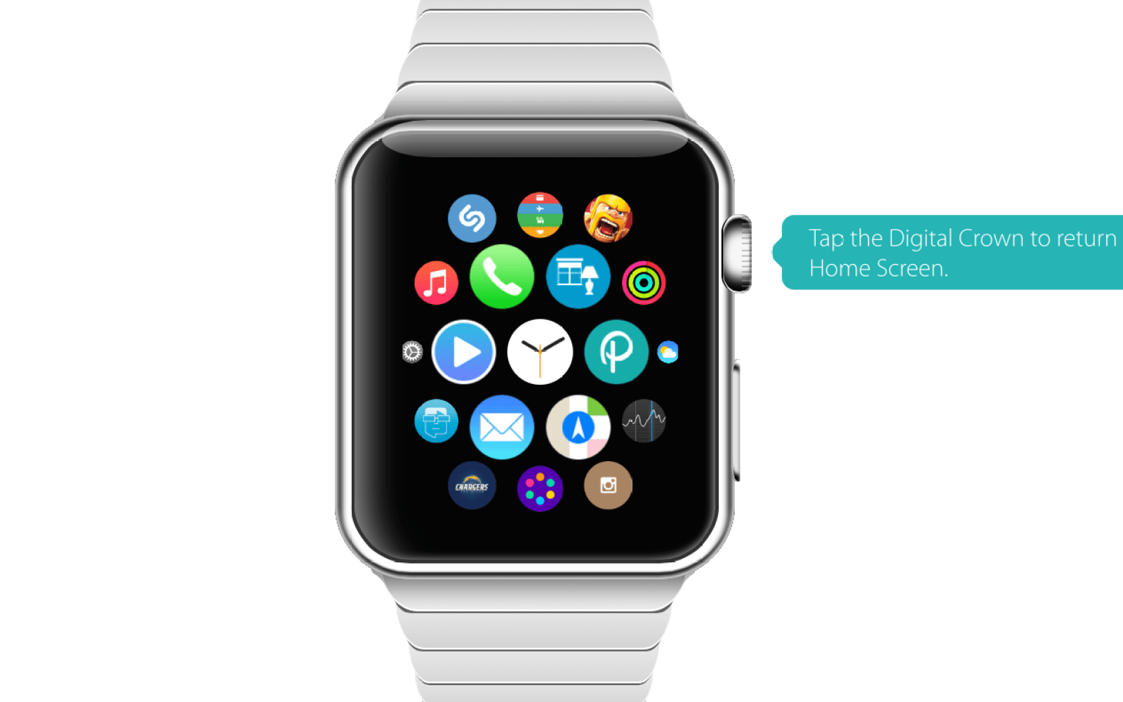 Interactive Apple Watch demo gives users a feel for the wearable's UI ahead of launch