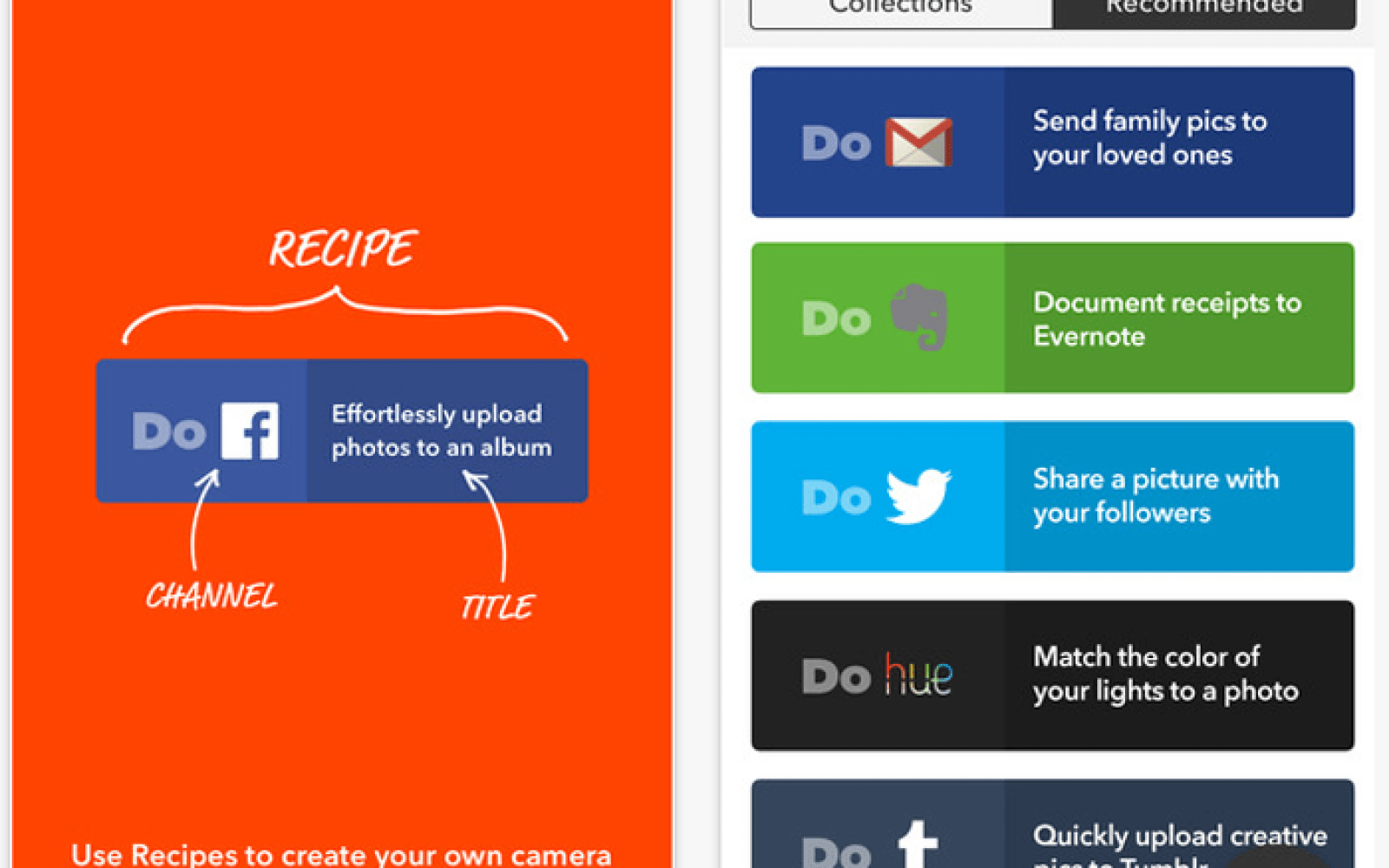 IFTTT simplifies experience with 3 new 'DO' apps; rebrands original app as 'IF'