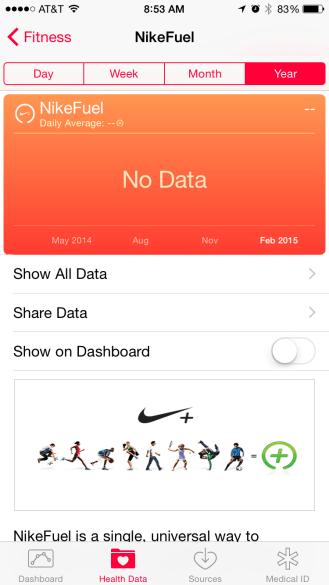 Nike FuelBand Health