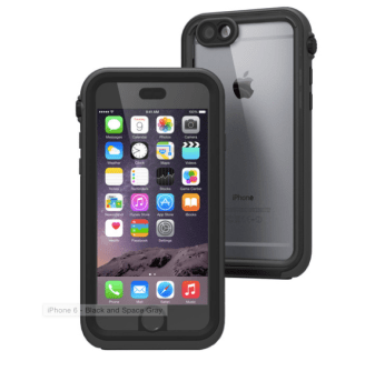 Catalyst with Space Grey iPhone 6
