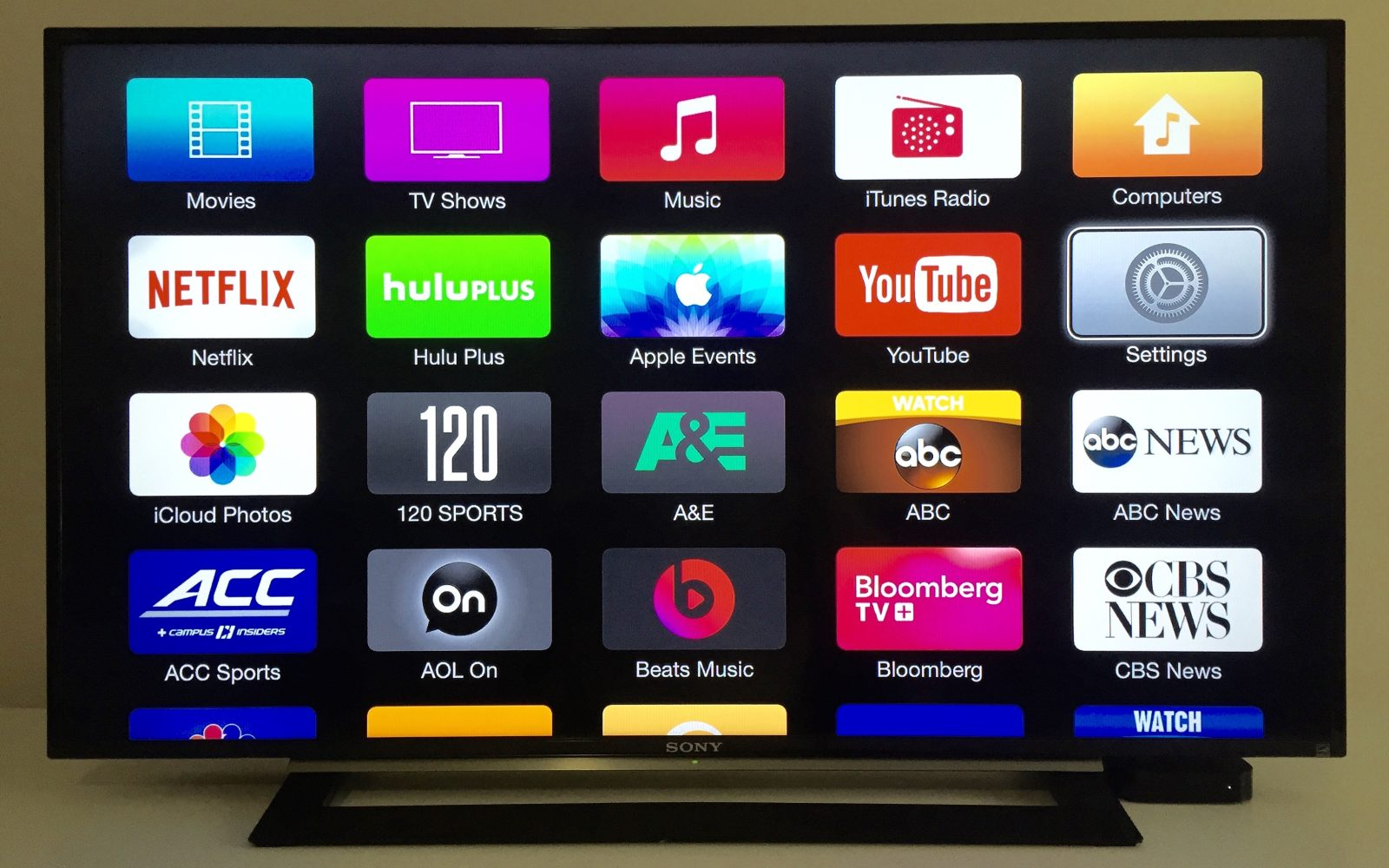 apple internet tv