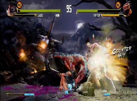 Xbox One screenshot taken from uStream
