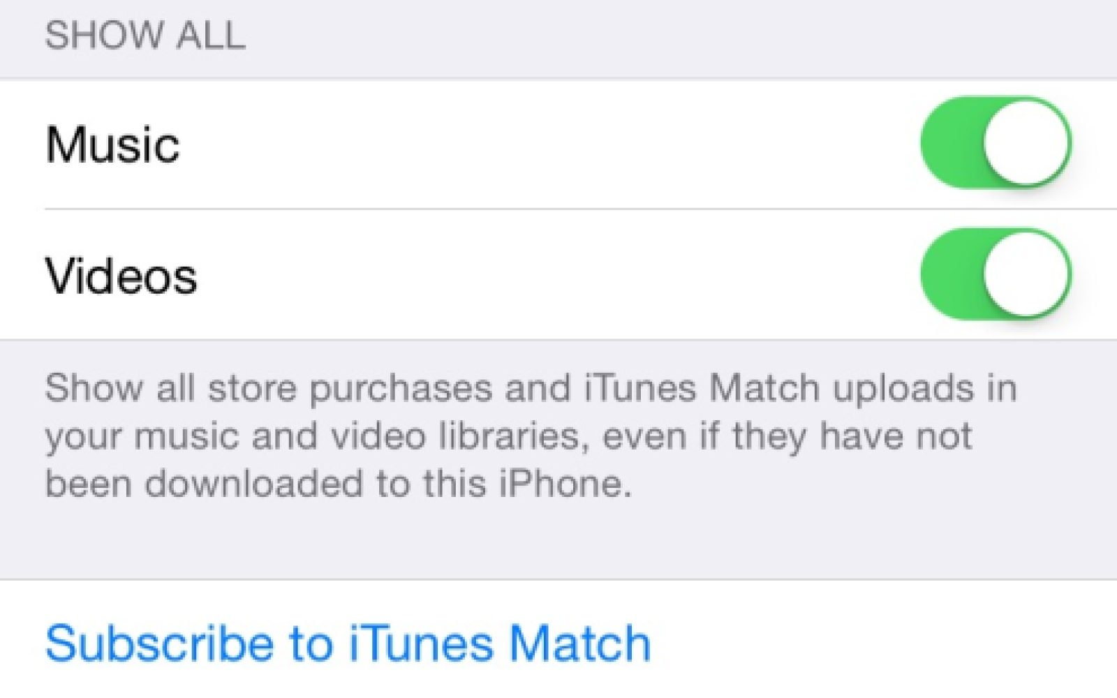 iOS 8 3 includes settings to download free apps and iTunes content