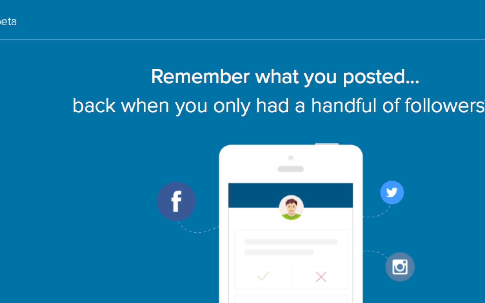 First look: Clear, the iOS app that vets your social media history for indiscretions