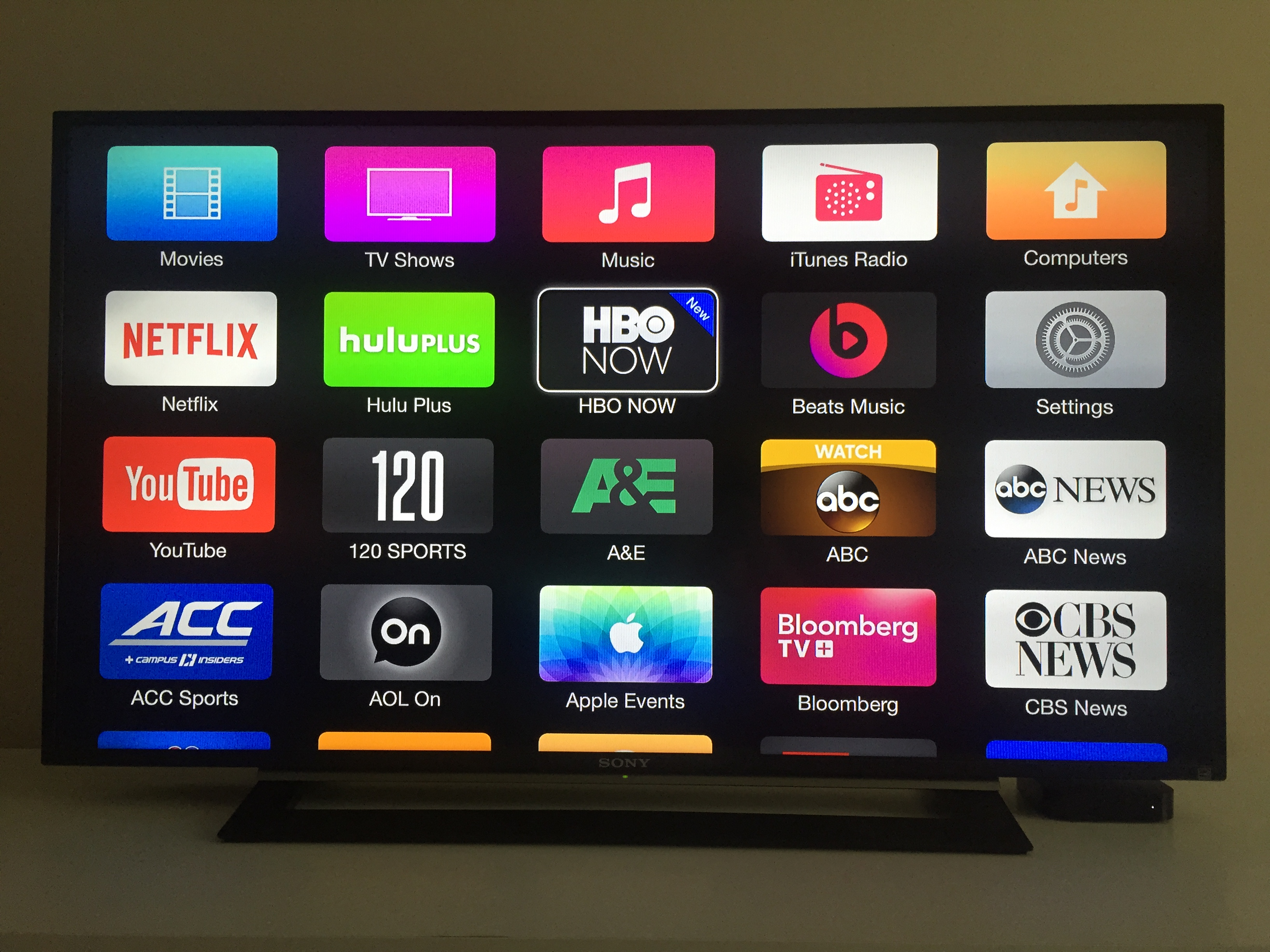 stream iphone to tv hbo now standalone service debuts on apple tv 4552