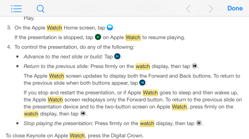 Keynote Remote Apple Watch