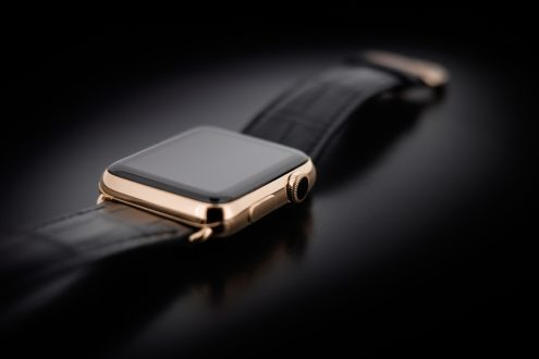 Gold plated Apple Watch by Golden Dreams