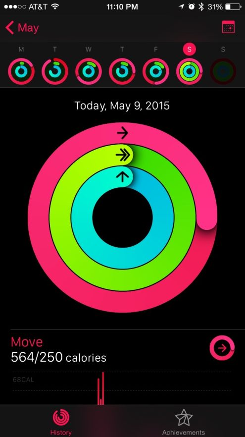 Apple Watch Fitness 4