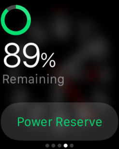 Apple Watch Glances 3