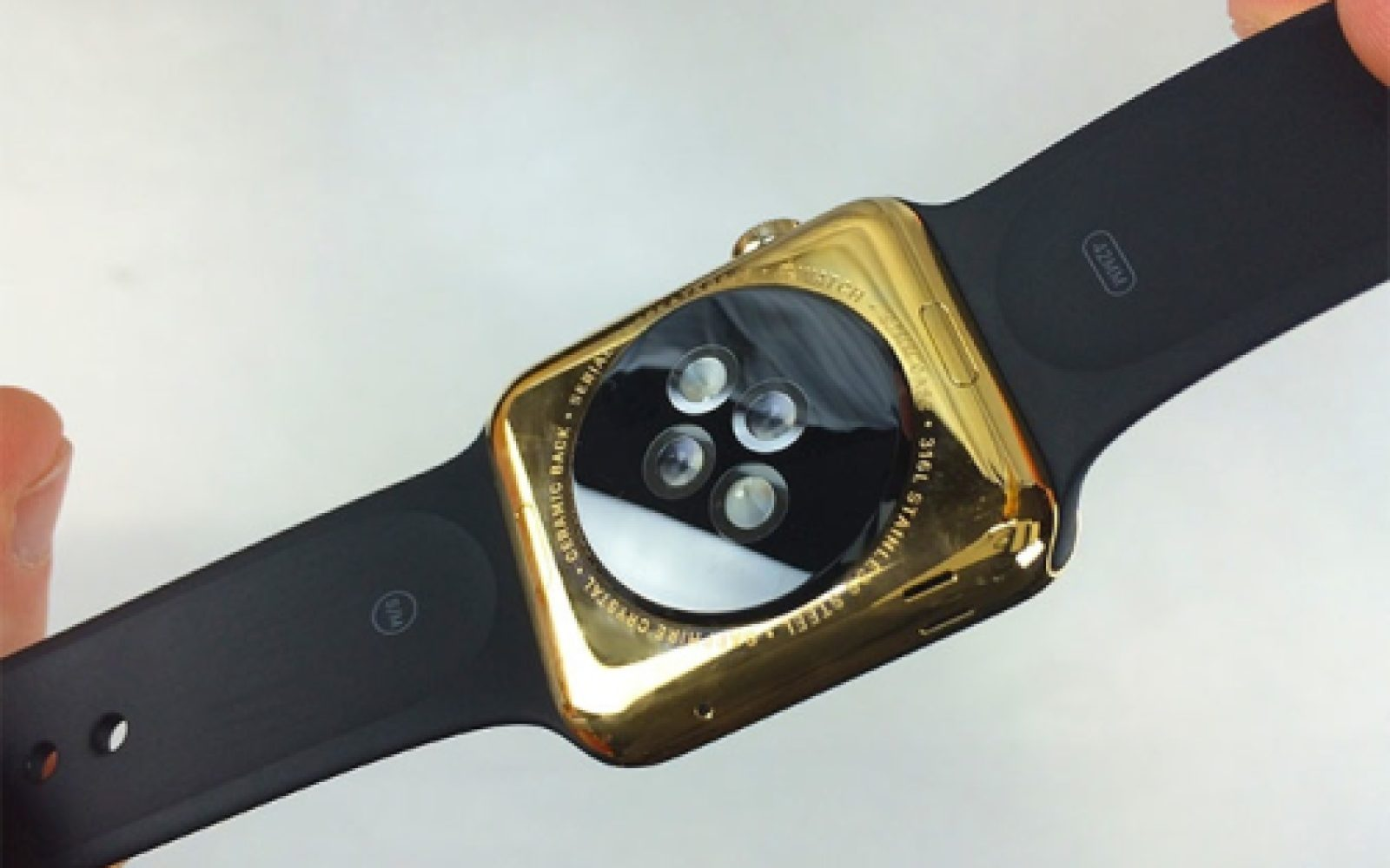 $100 kit lets you plate Apple Watch with 24K gold DIY-style