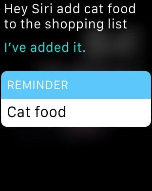 Apple Watch Siri 5