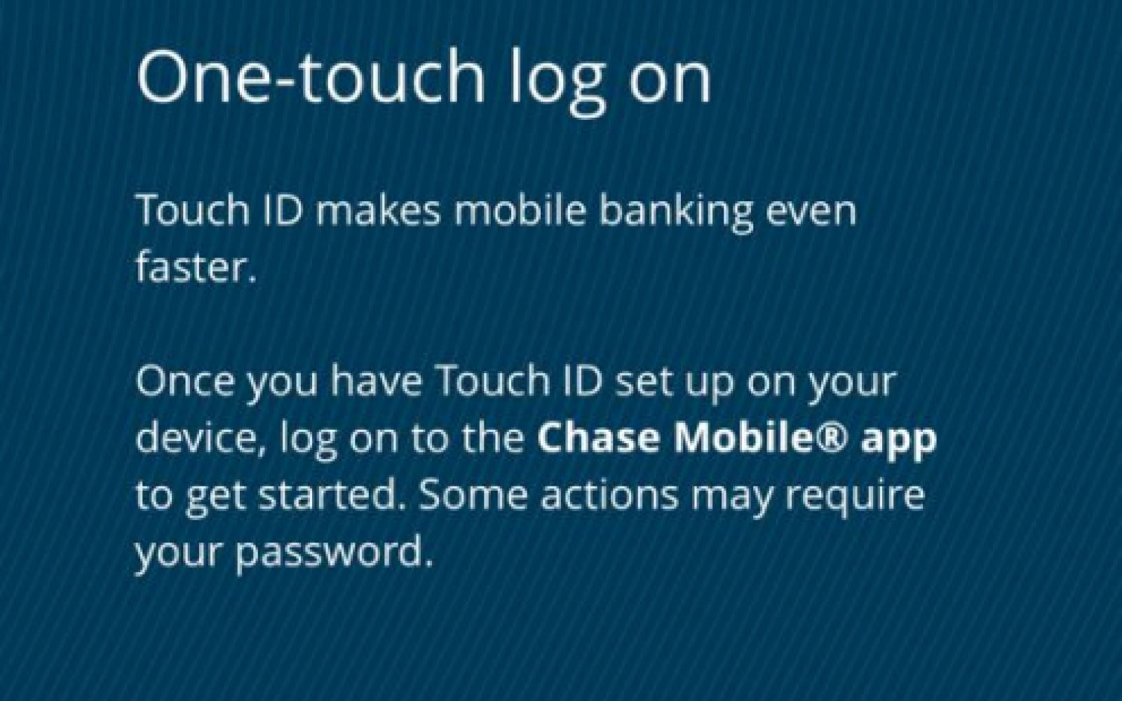 Chase Bank iPhone app now lets you log in with Touch ID - 9to5Mac