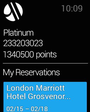 Marriott International Apple Watch 3