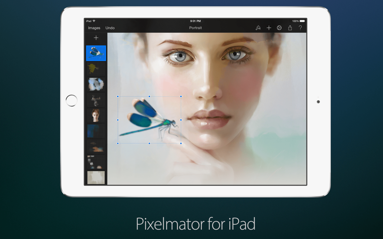Pixelmator for iPhone and iPad adds 'Dynamic Touch' brush strokes, better Repair Tool, more