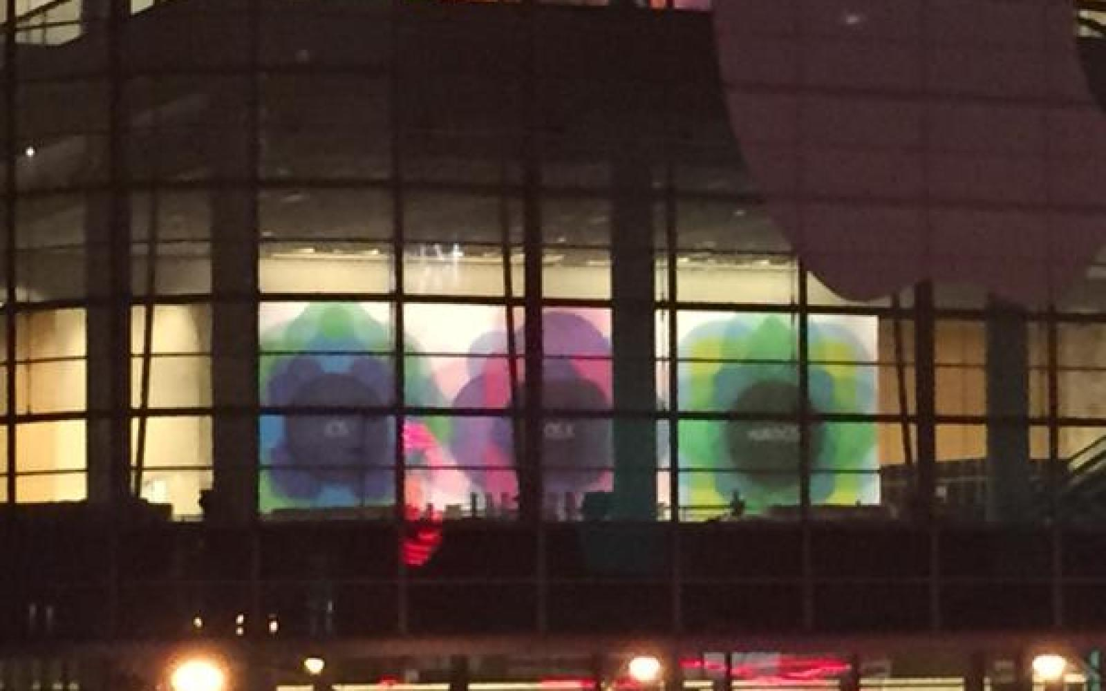 Simple geometric banners depicting iOS, OS X and 'watchOS' spotted at WWDC