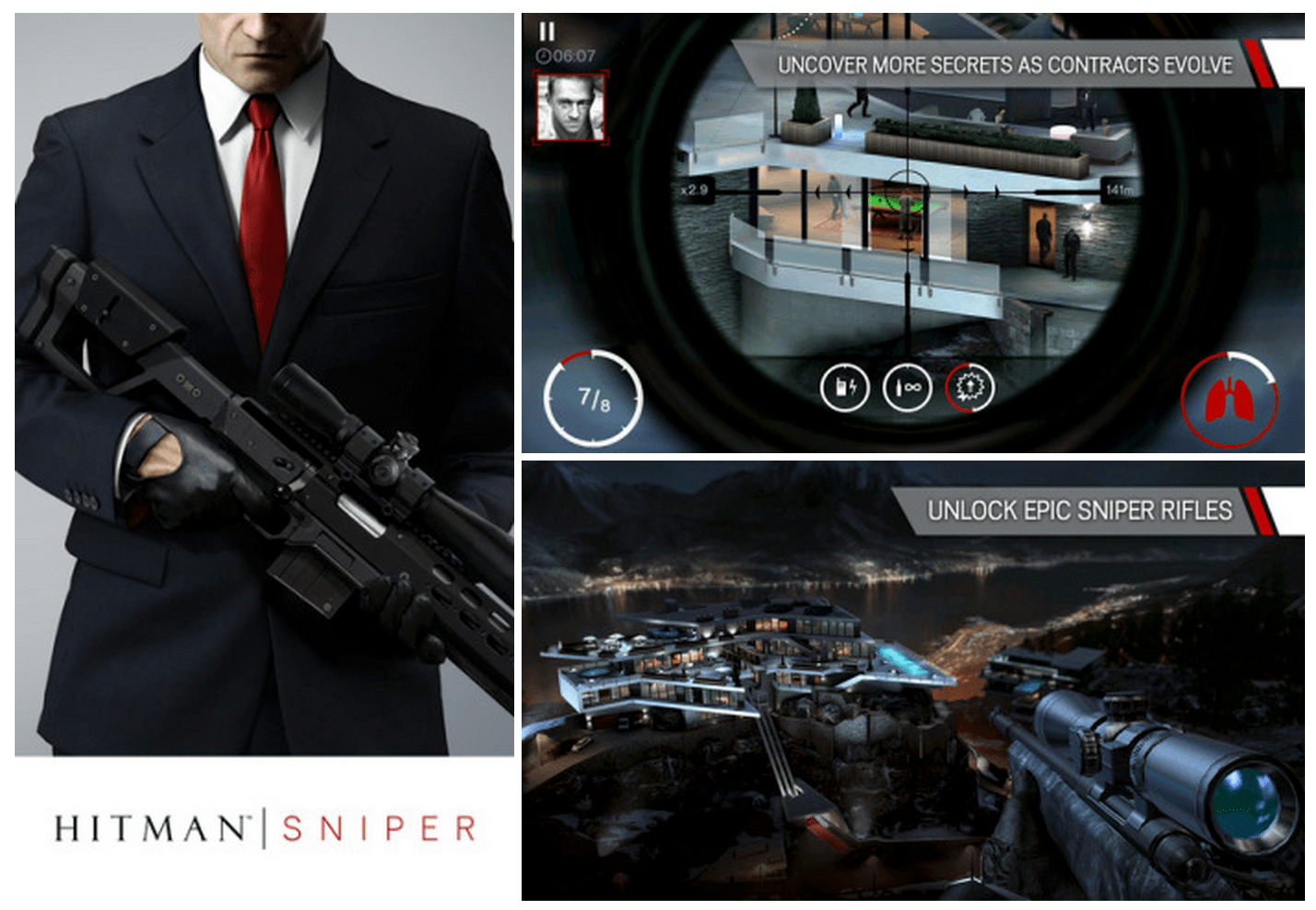 Agent 47 returns to iOS with the new Hitman Sniper game