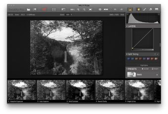 Take manual control with the right-side pane's split-toning