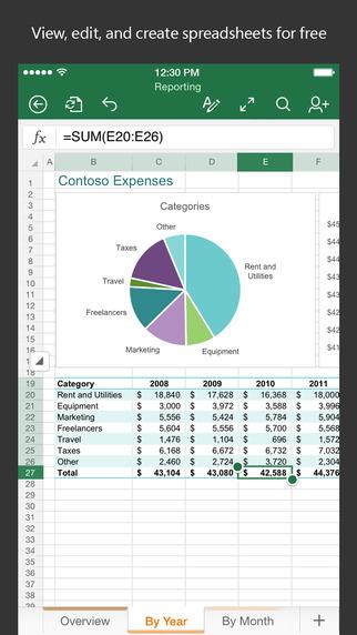 Excel-iOS