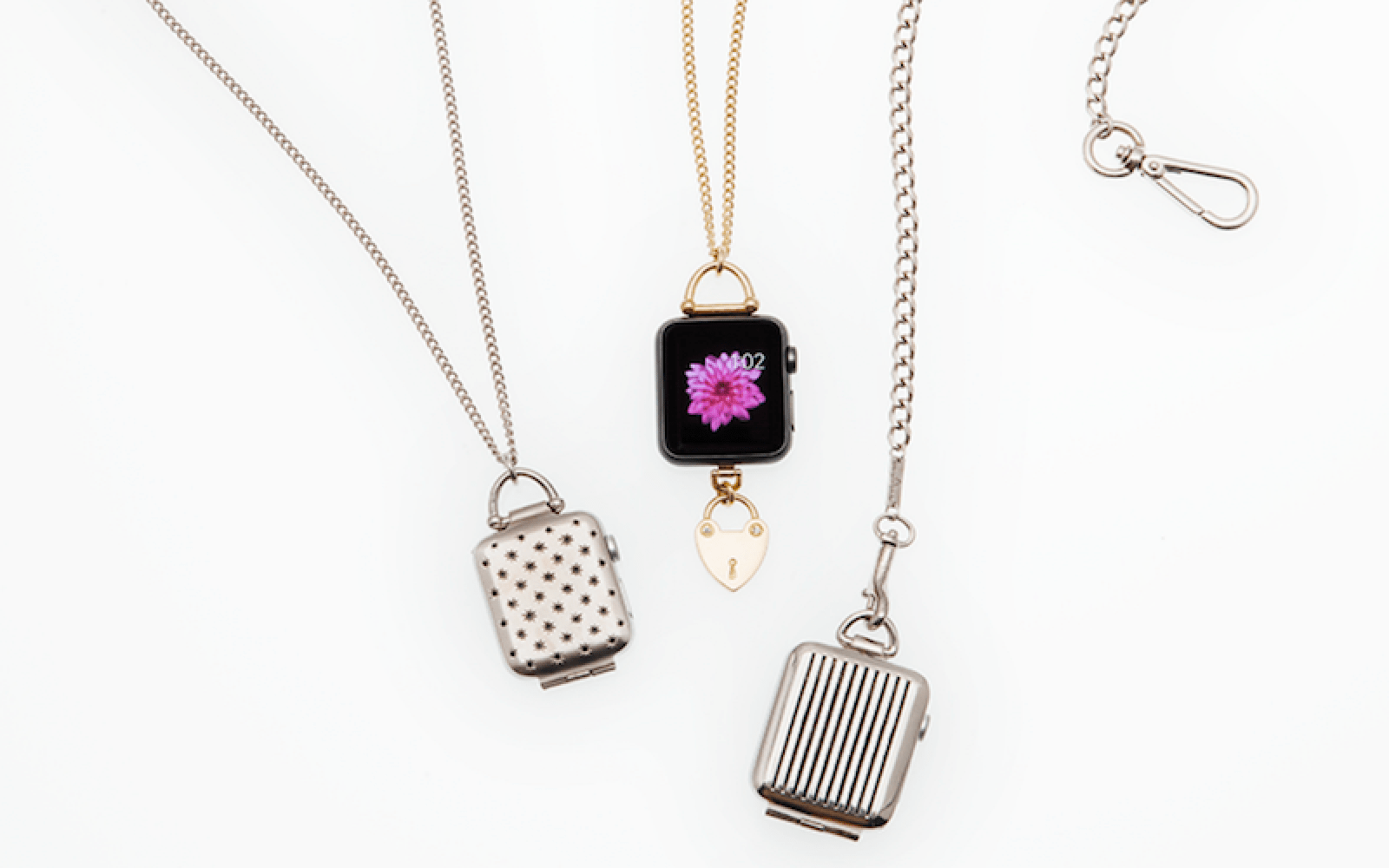 Pendulum accessory turns Apple Watch into a necklace pendant or pocket watch