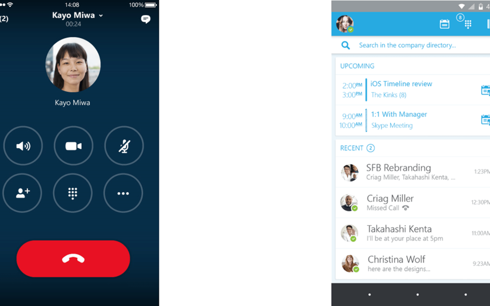 Microsoft announces preview of new Skype for Business iOS app with simplified UI & better navigation