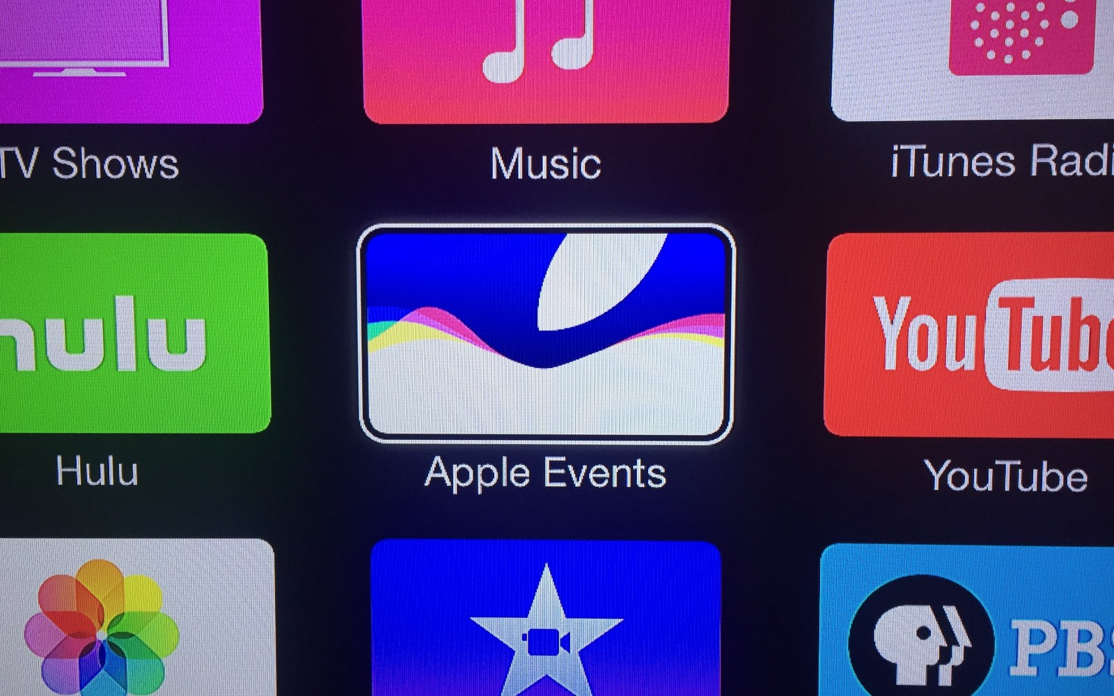 Apple TV refreshes Events channel ahead of iPhone 6S announcement livestream