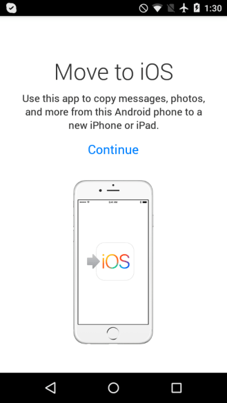 Move to iOS 1