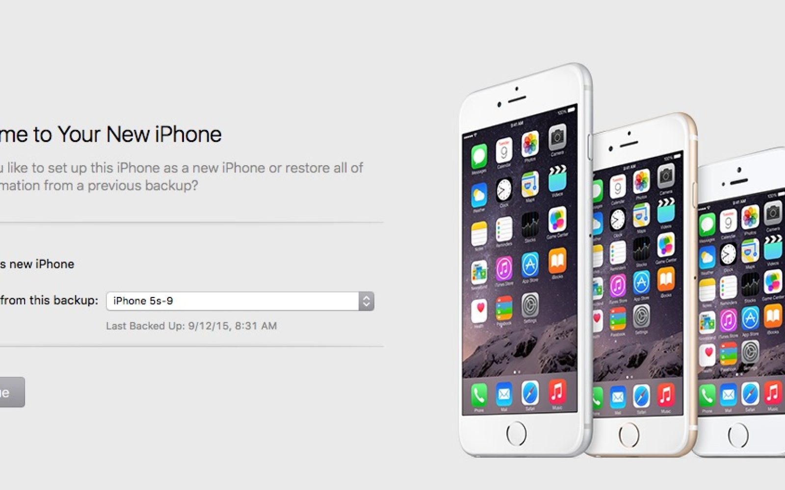 How-To: Quickly transfer your old iPhone's files to a new iPhone 6s