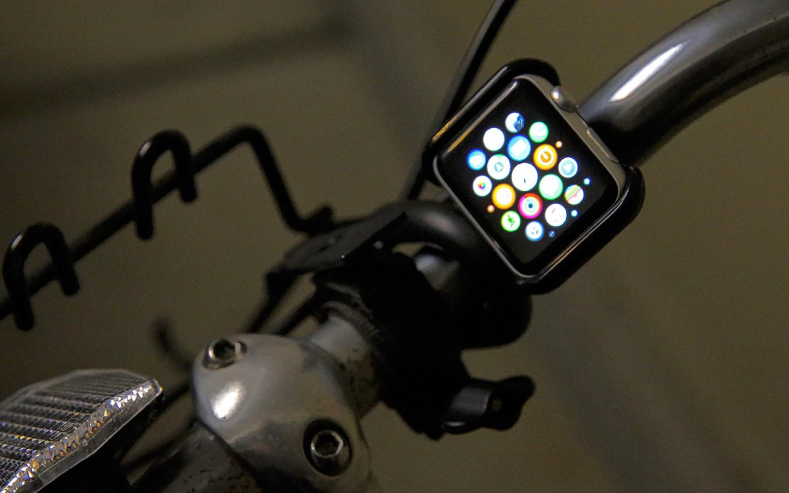 Satechi's Apple Watch Grip Mount plays music, shows notifications from steering wheels or bike handlebars