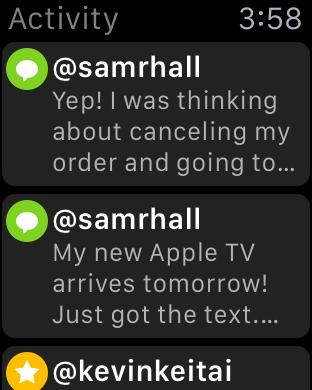 Tweetbot Apple Watch 10