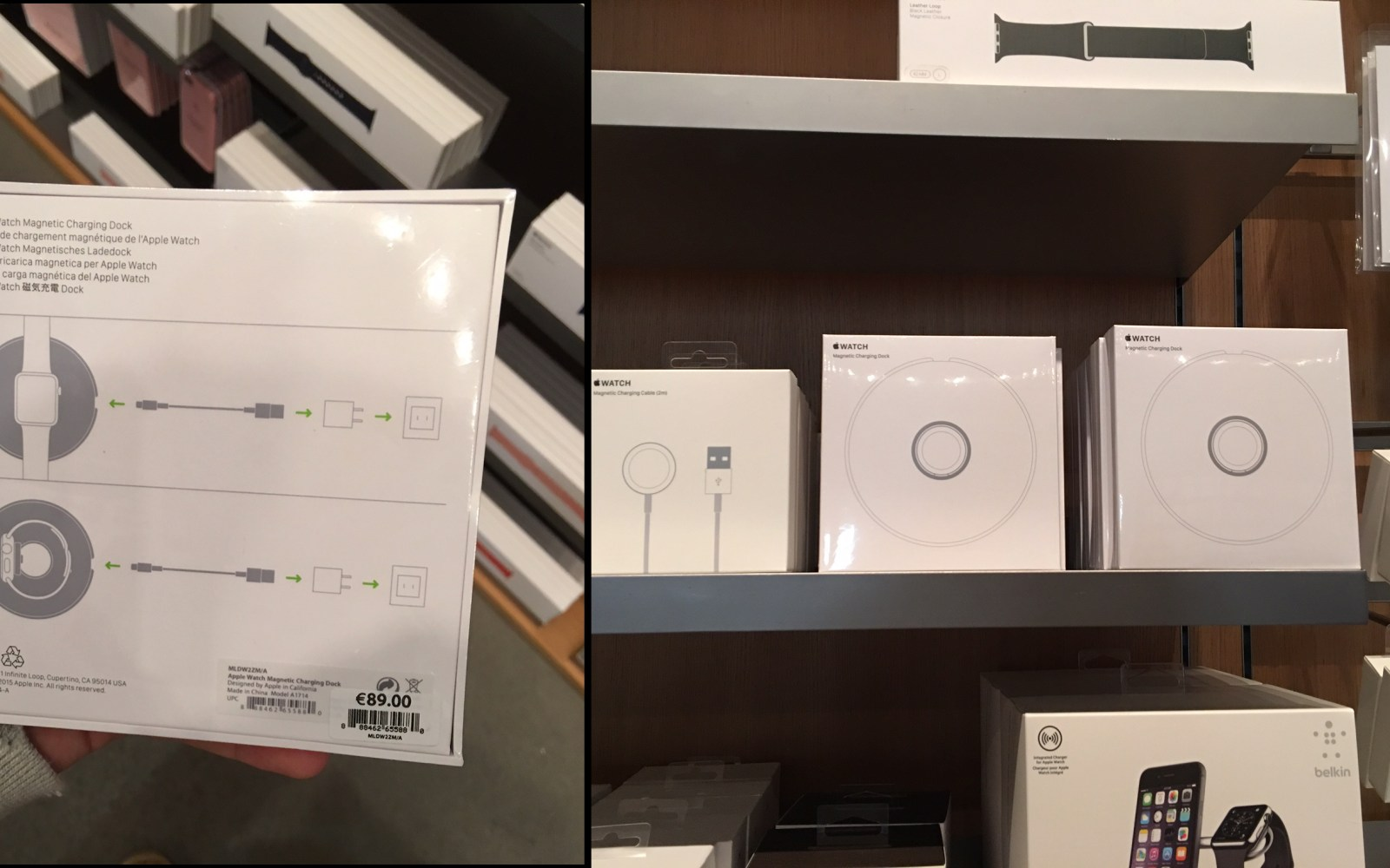 Apple Watch Magnetic Charging Dock now available to buy for $79, watch a full hands-on video