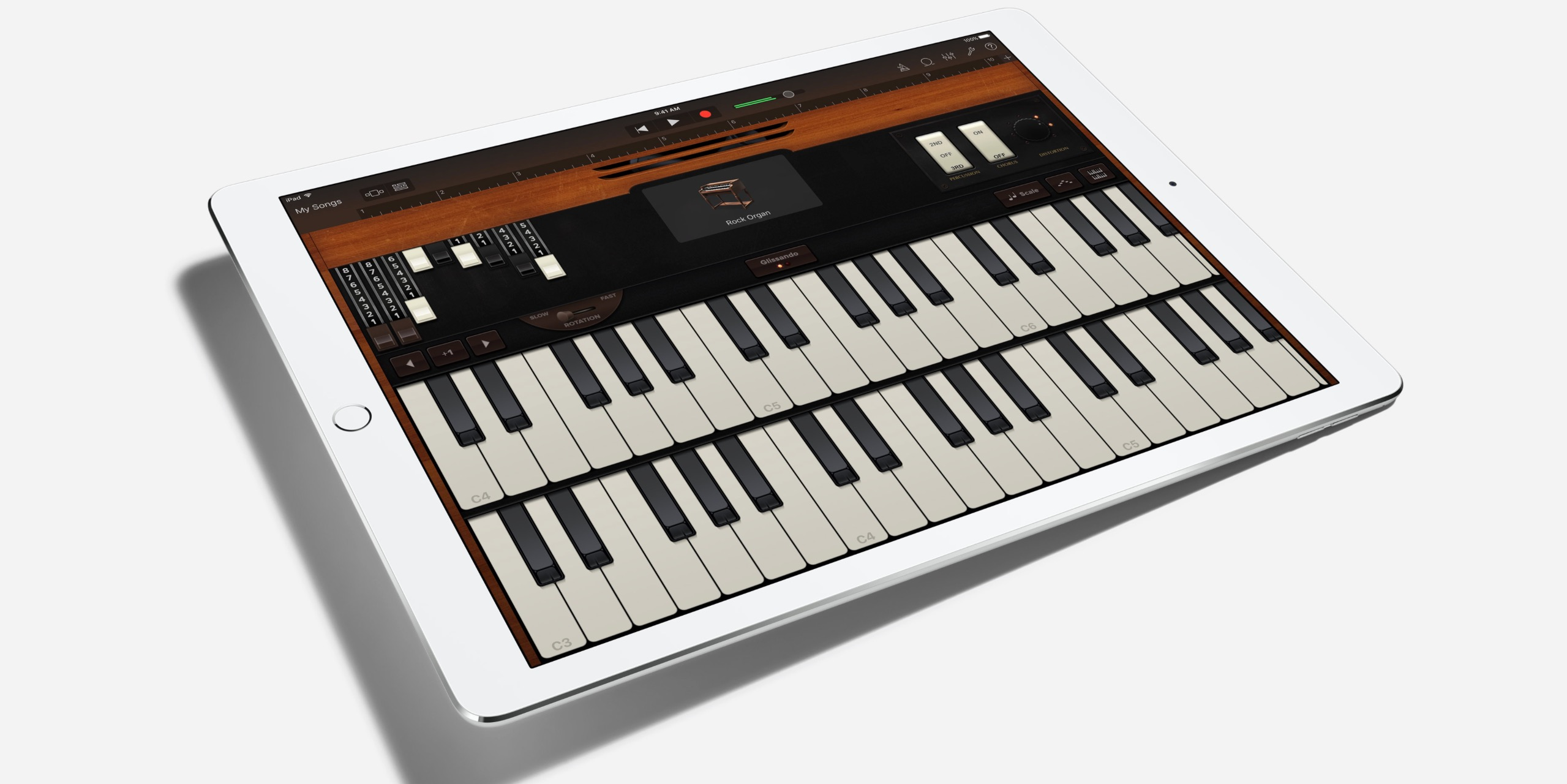 Garage Band Keyboard : Apple enhancing garageband for ipad pro adding d touch for