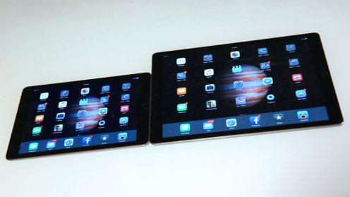 iPad Pro makes the iPad Air 2 look like an iPad mini