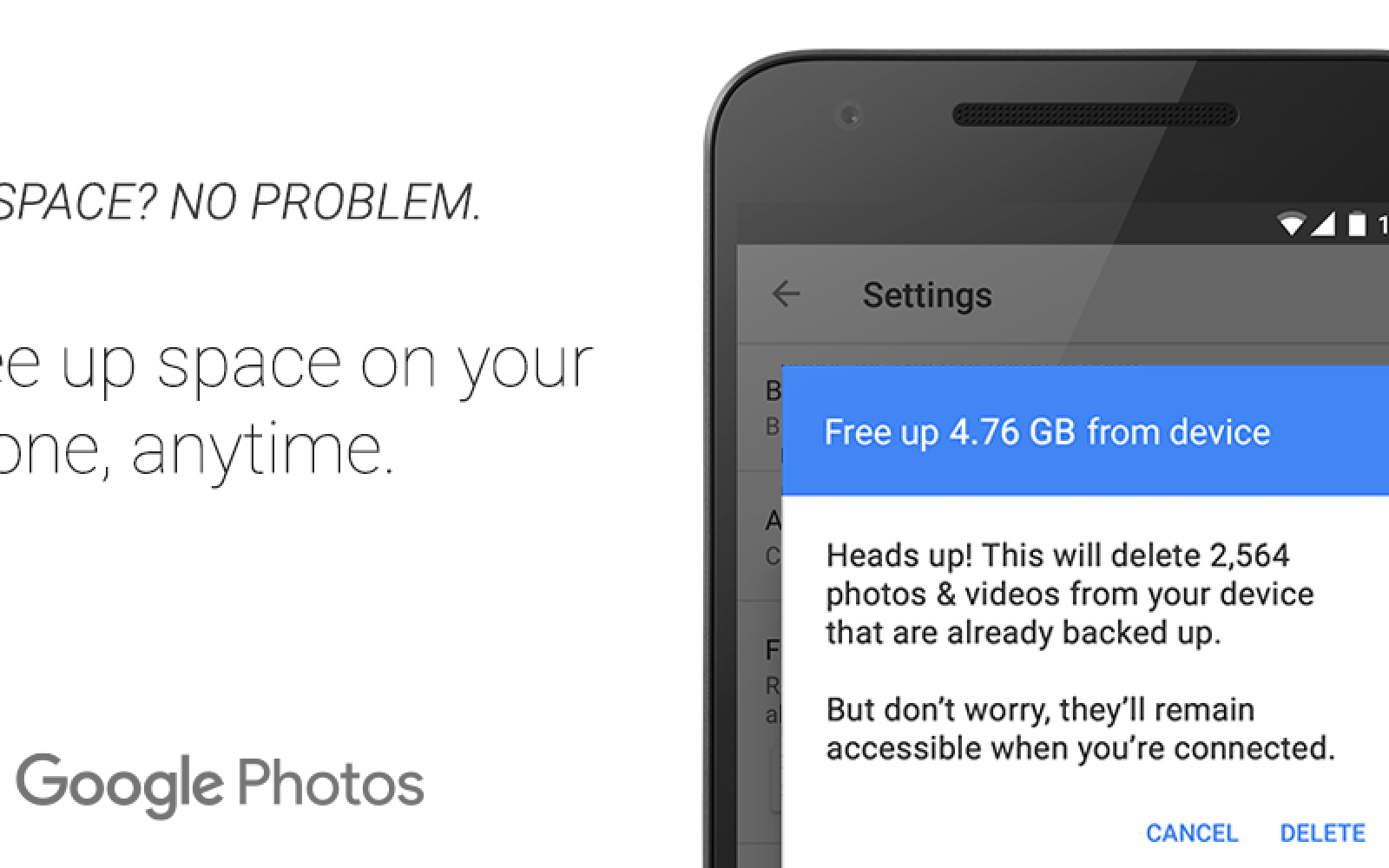 16GB iPhone users rejoice: New Google Photos feature lets you easily free up storage on iOS
