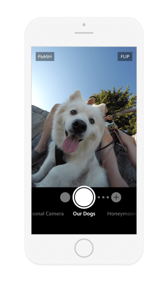 Upthere Camera iOS 1