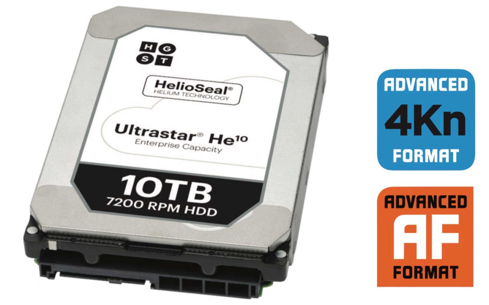 A 10TB drive for your iMac? HGST's new Ultrastar He10 uses helium, 7 platters to make it possible