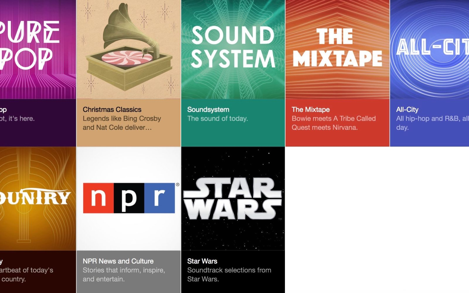 Apple Music hypes The Force Awakens with new Star Wars featured ...