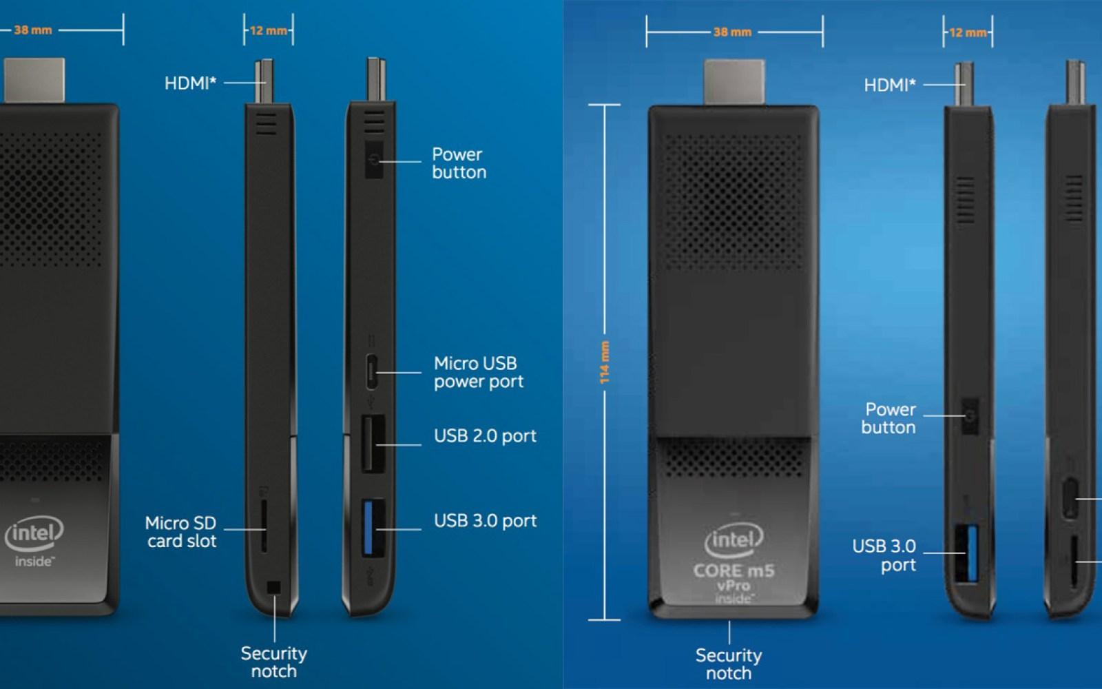 Intel's 2nd-gen Compute Stick is a faster, better iTunes media server