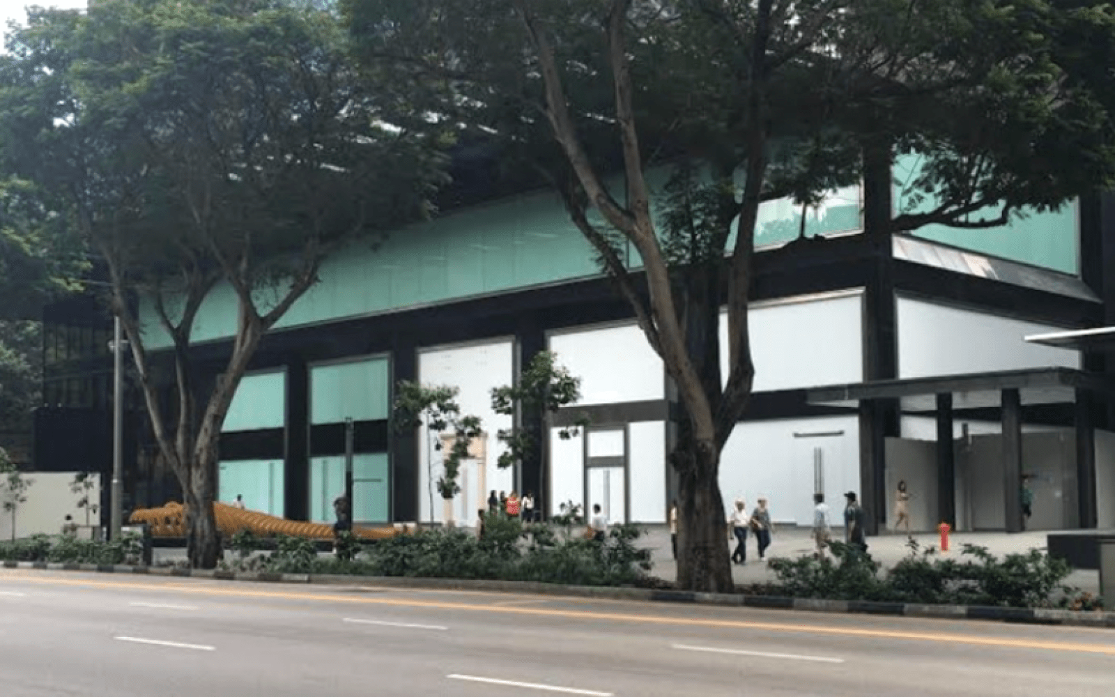 New photos show work underway at rumored location of Apple's first retail store in Singapore