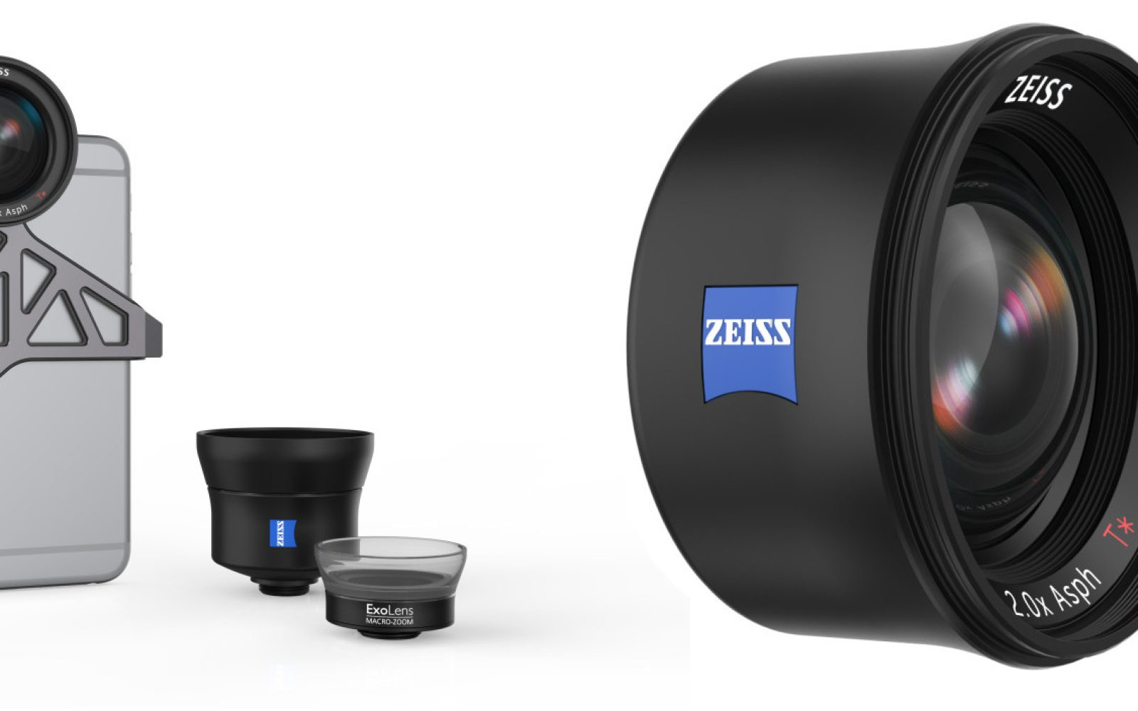 ExoLens announces three premium Zeiss T* lenses for iPhone 6