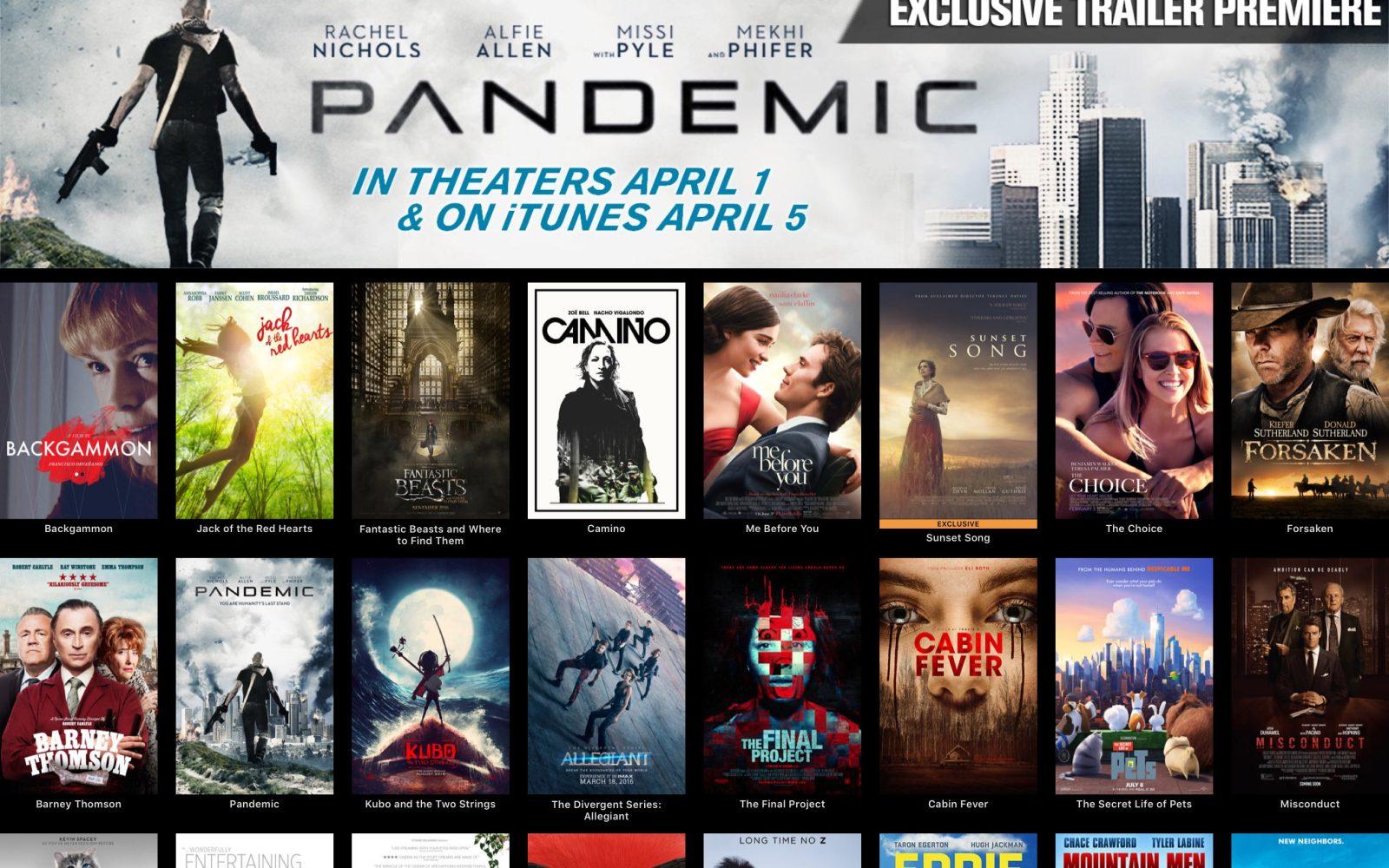 movie app for ipad