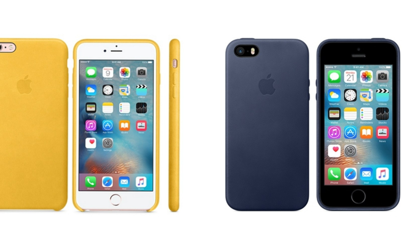 Apple expands iPhone silicone/leather case options, confirms iPhone SE cases will fit 5/5s