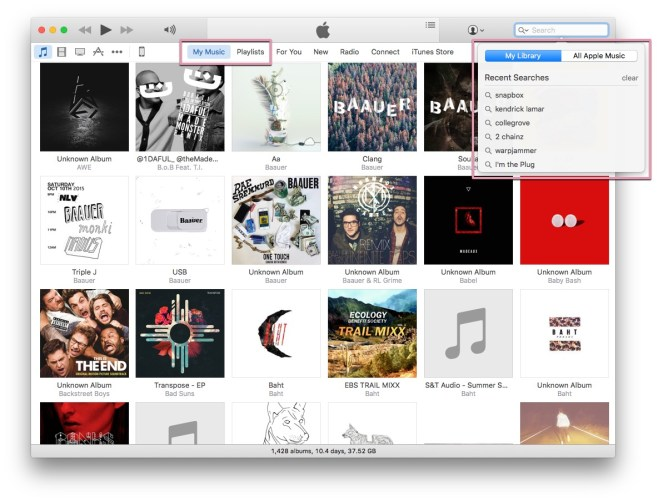 iTunes_Search_Library