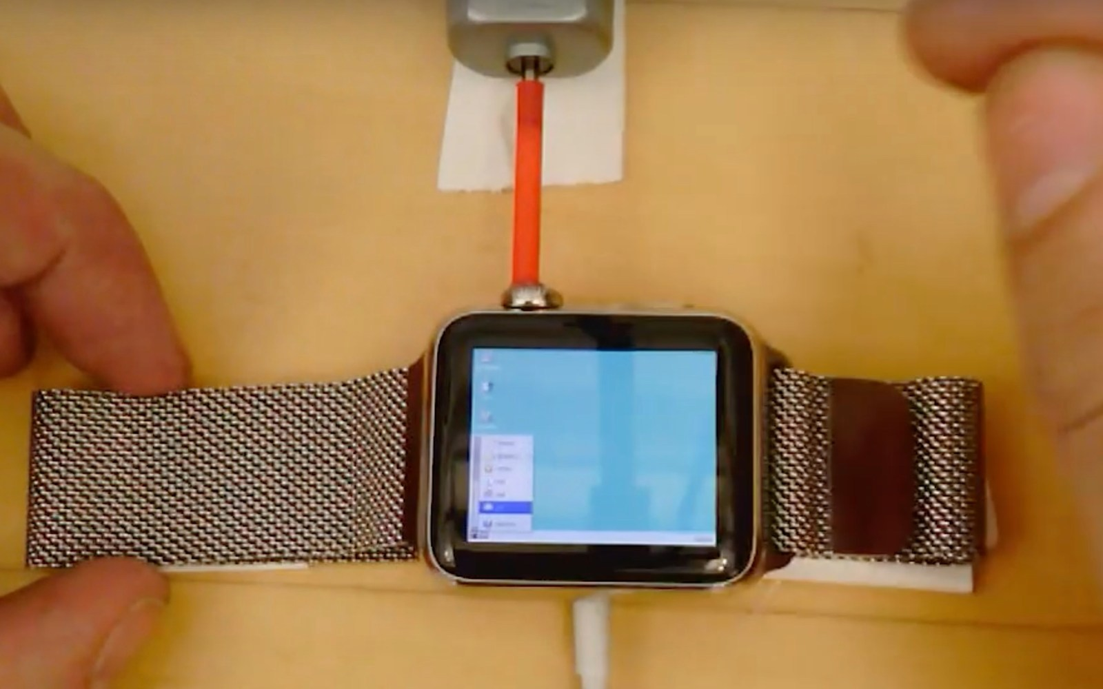 Developer hacks Apple Watch to boot and run Windows 95